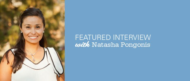 Interview with Natasha Pongonis