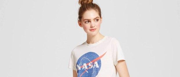Girl's NASA tshirt