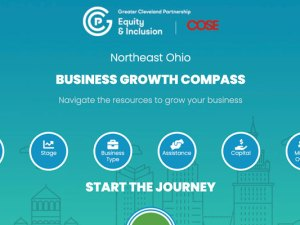 Compass assesses needs and connects entrepreneurs and businesses to appropriate resources in the Northeast Ohio entrepreneurial ecosystem