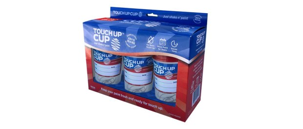 Touch-up cup for paint
