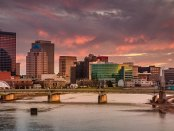 City view of Dayton, Ohio