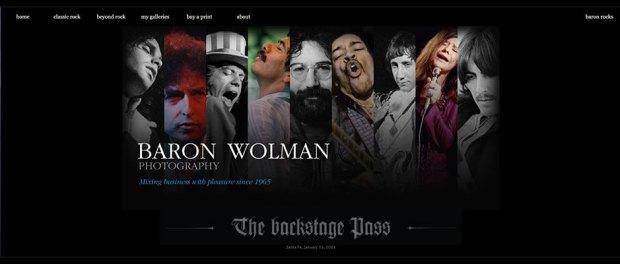 Baron-Wolman Website Screenshot
