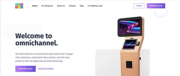 digital pop-up shop technology