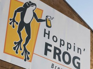 Hoppin' Frog Brewery of Akron