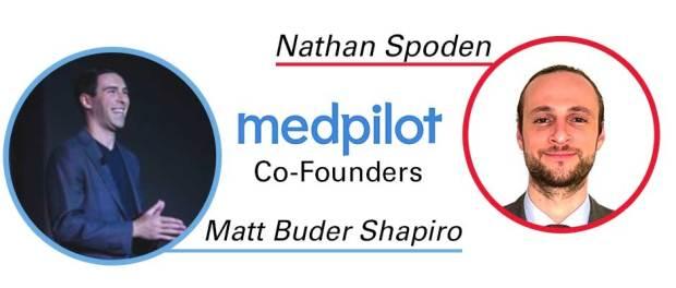 medpilot-co-founders, Nathan Spoden and Matt Buder Shapiro