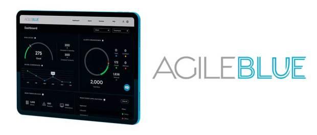 Cybersecurity startup AgileBlue logo