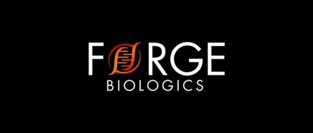 Forge_Biologics logo on black background