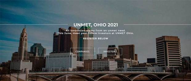 UNMET, OHIO 2021 All innovation stems from an unmet need. This June, meet your future investors at UNMET Ohio. REGISTER BELOW