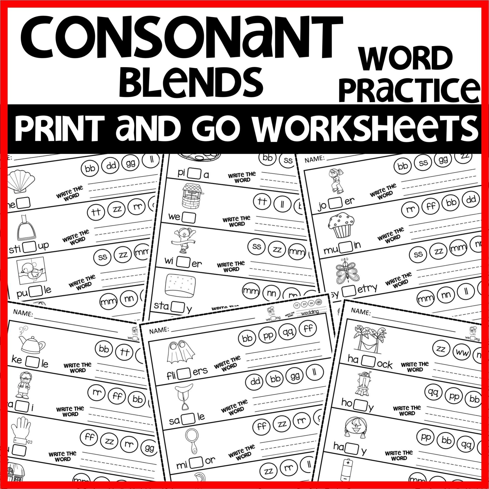 Double Consonant Word Practice