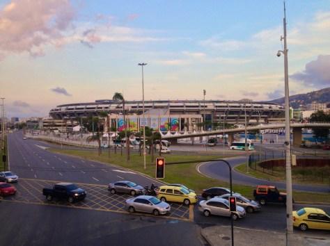 Maracanã Stadium in Rio de Janeiro.