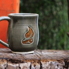 Winter Mug Orange Logo