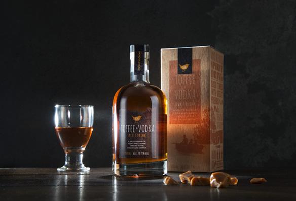 Branding agency design work for Kin Vodka