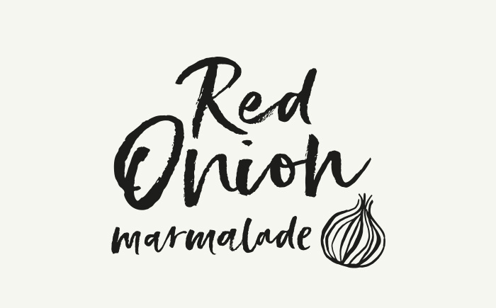 Red Onion Relish _ Graphic design in Cumbria, North West for food