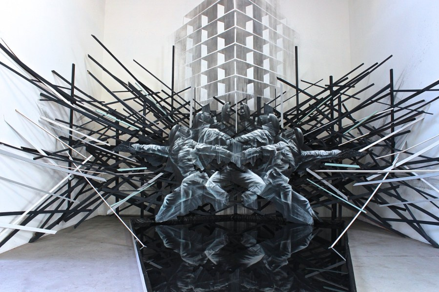 Instalación de Esgrima de Aaron Li-Hill
