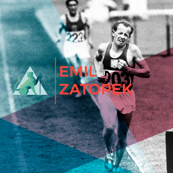Emil Zatopek <br> La leyenda