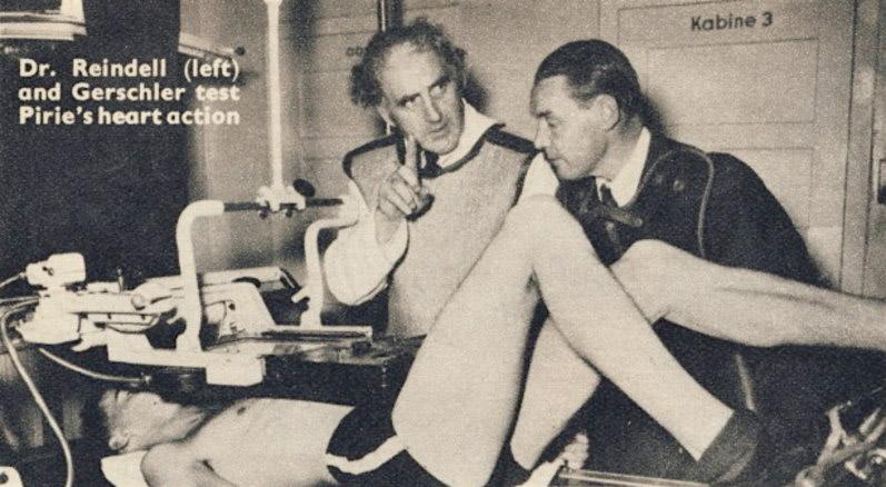 Reindell y Gerschler, interval training
