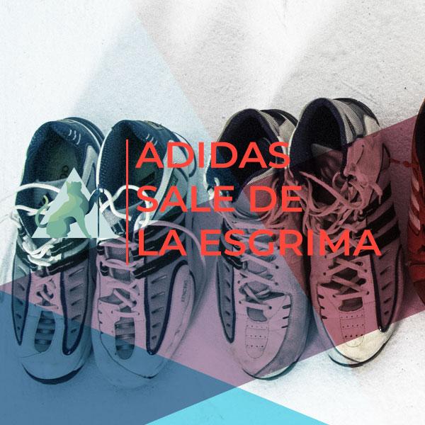 Adidas y las zapatillas de esgrima