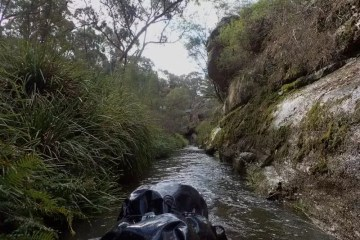 Rafting the Eastern Cudgegong (NSW) Anthony Bosch river