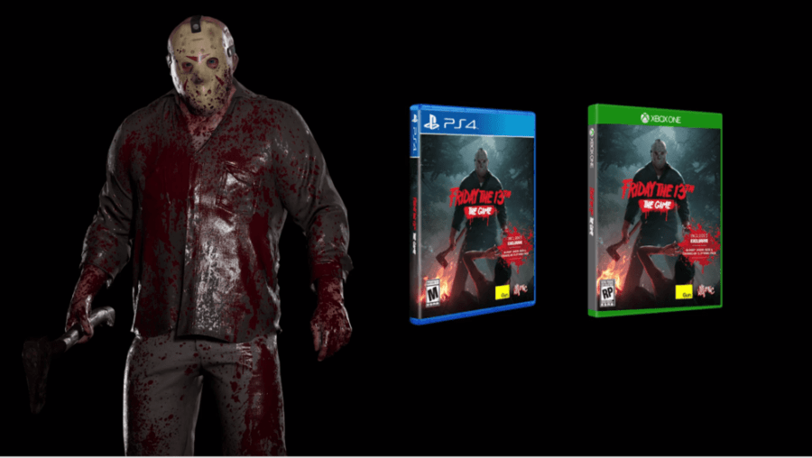 Friday the 13th: The Game physical copy with bloody skin