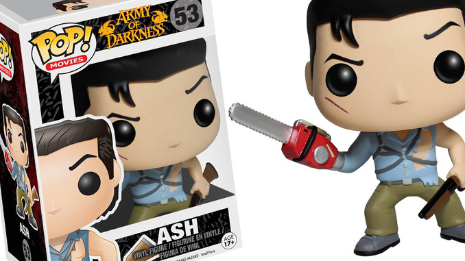 Funko Pop Ash from Army of Darkness