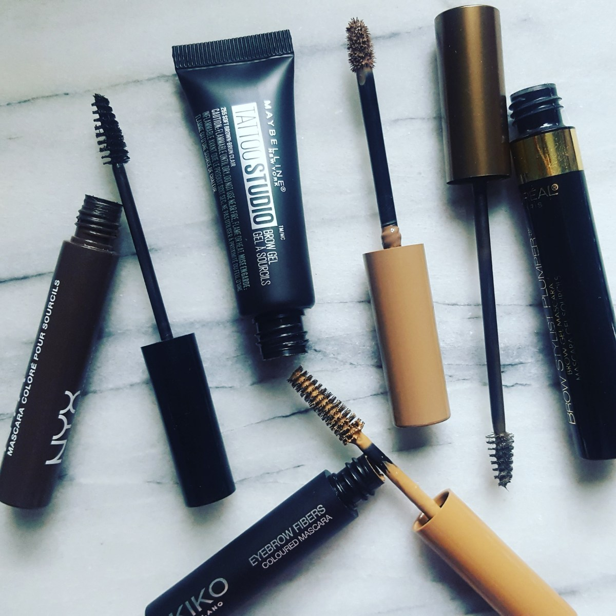 What is worth your coins? A shopping guide to affordable brow mascaras