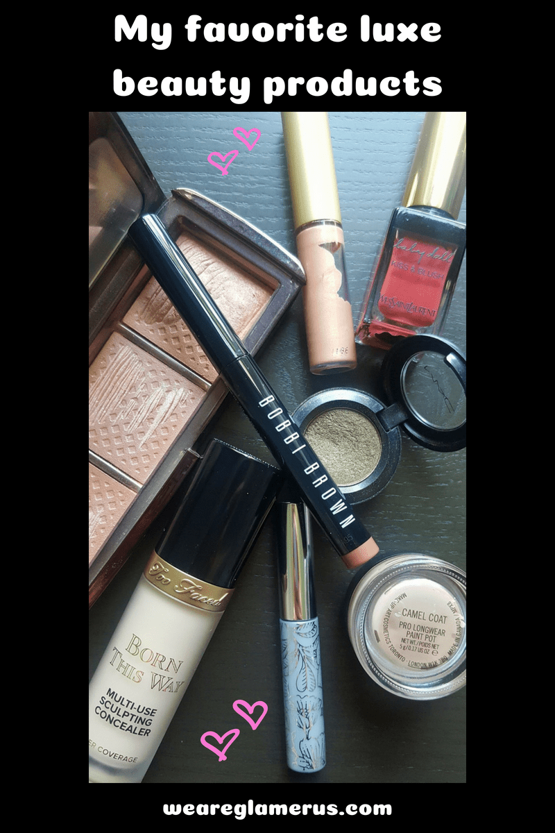 My favorite luxe beauty products