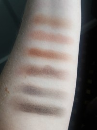Swatches of Elf Cosmetics Mad for Matte Nude Mood