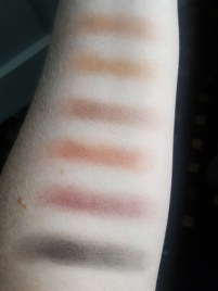Swatches of Elf Cosmetics Mad for Matte Summer Breeze