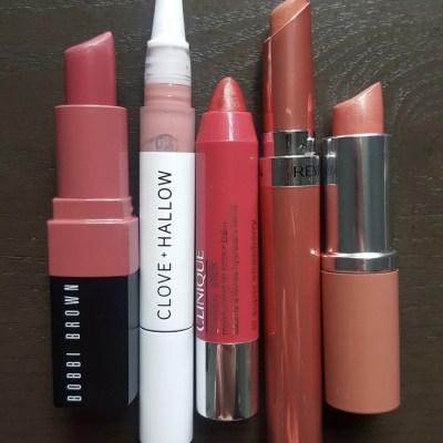 Five moisturizing lippies for Autumn-Winter