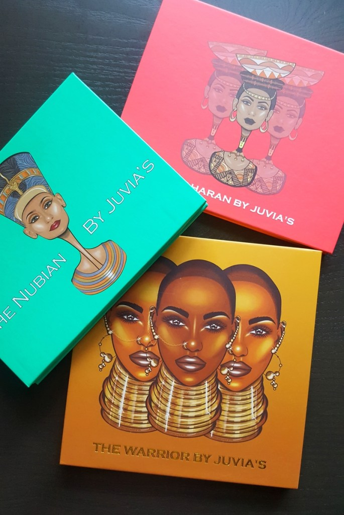 The Nubian, the Saharan, & the Warrior Palettes