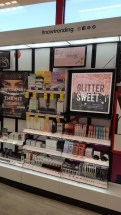 Now Trending display in CVS Beauty IRL Store