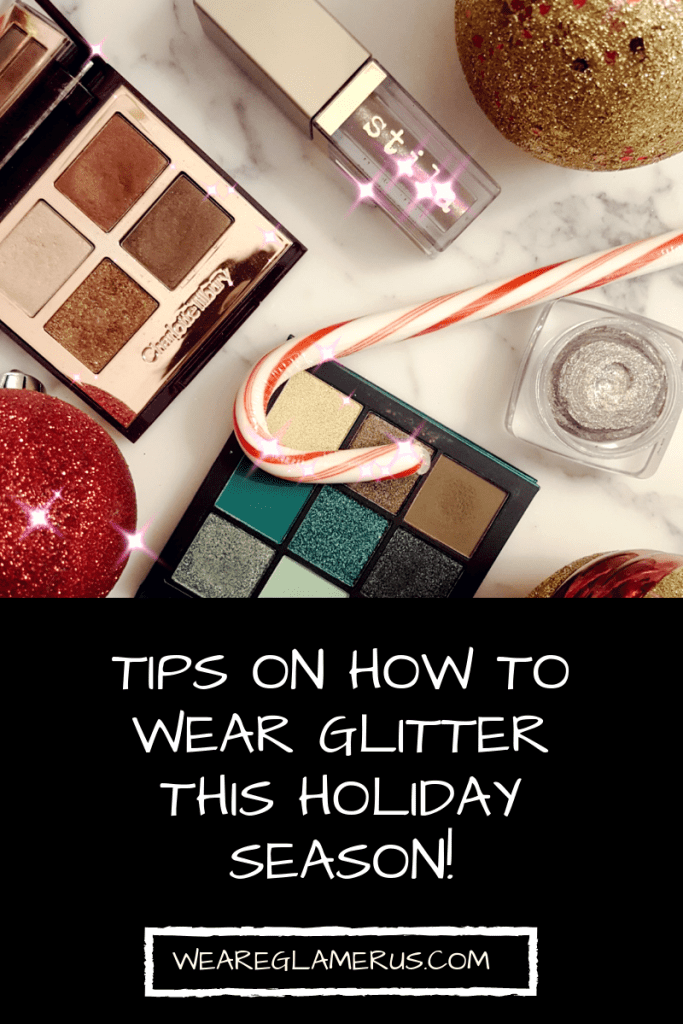 Check out my how-to tips on glitter application and take a peek at my favorite glitters to use!