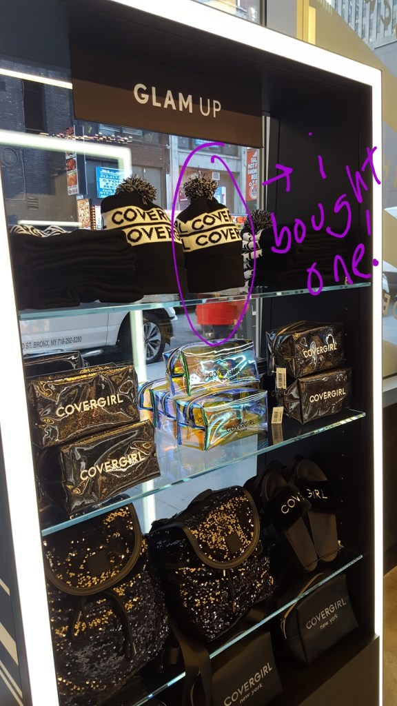 CoverGirl store merch