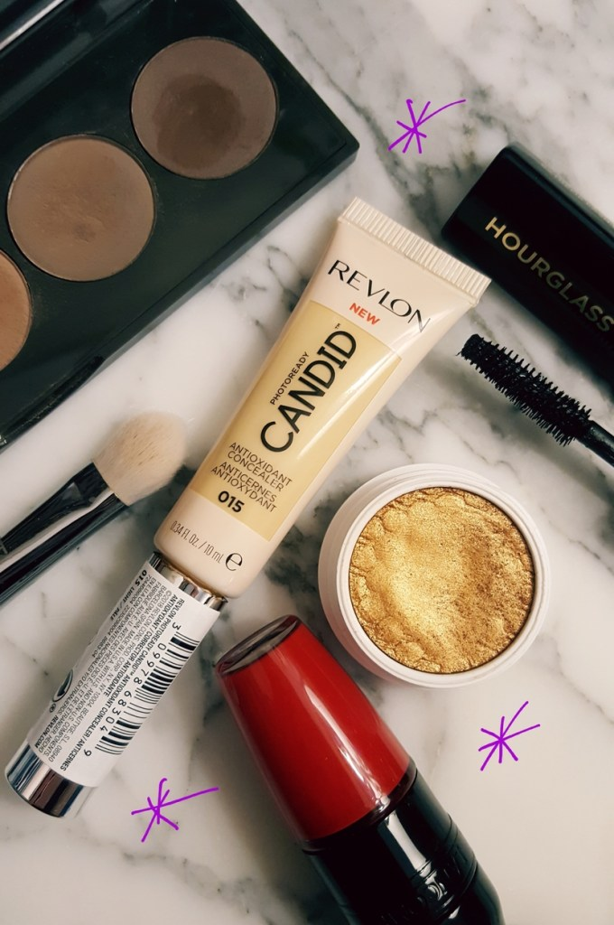 Flatlay with Revlon PhotoReady Candid Concealer