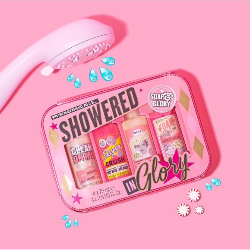 Soap & Glory Showered in Glory Set 2018