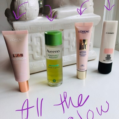 Glowy makeup primers – my picks!