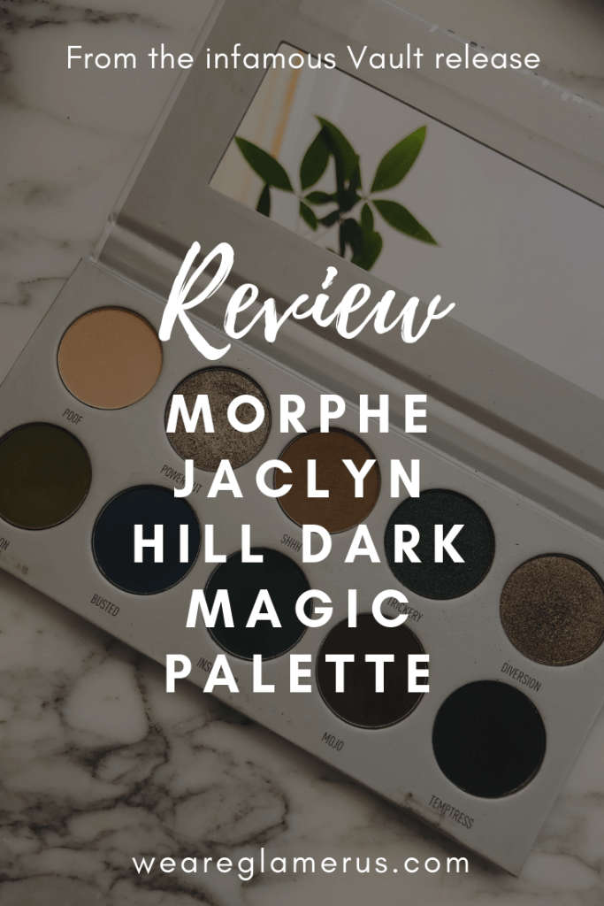 Check out my in-depth review of one of the infamous Morphe Jaclyn Hill Vault Palettes: the Dark Magic Palette!