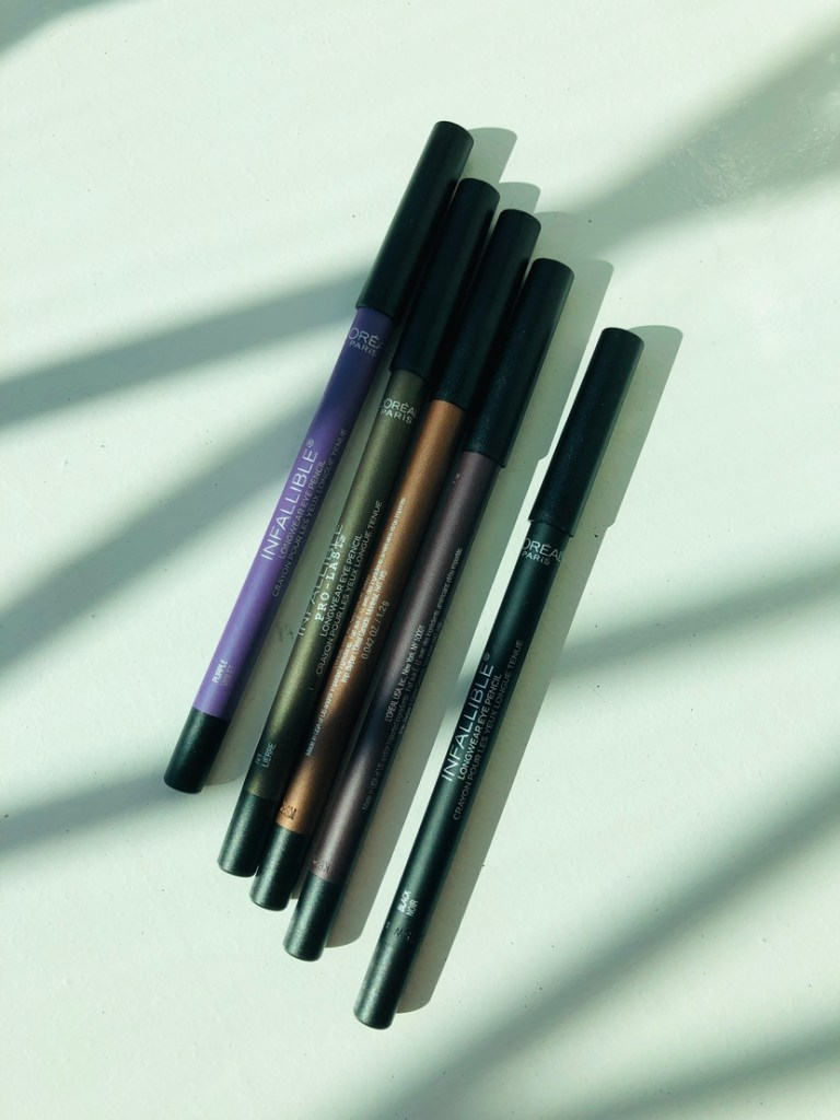 L'Oreal Infallible Pro-Last Waterproof Pencil Eyeliners