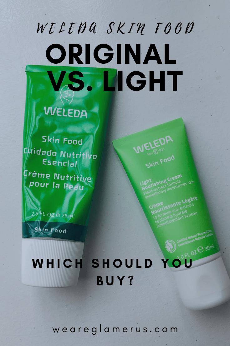 Find out the differences between Weleda Skin Food Original vs. Light, and find which version is best for you!