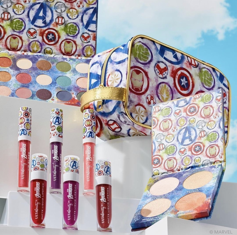 Ulta Beauty x Marvel Avengers Collection