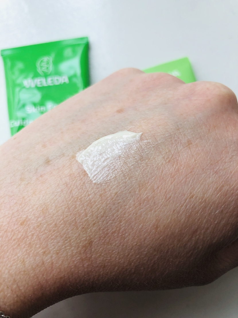 Swatch of Weleda Skin Food Original