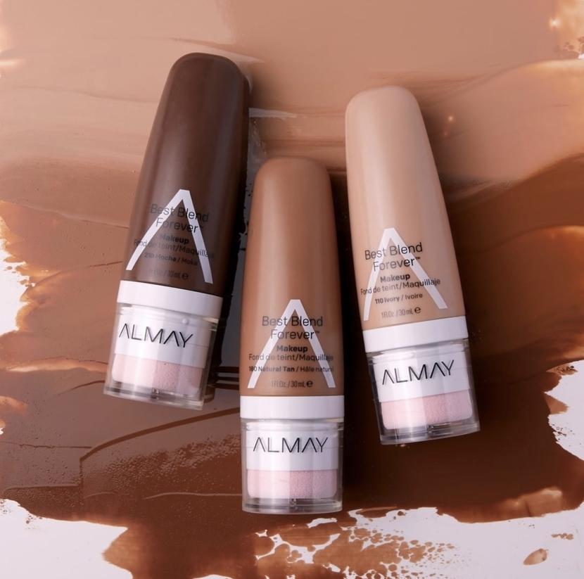 Almay visual foundation