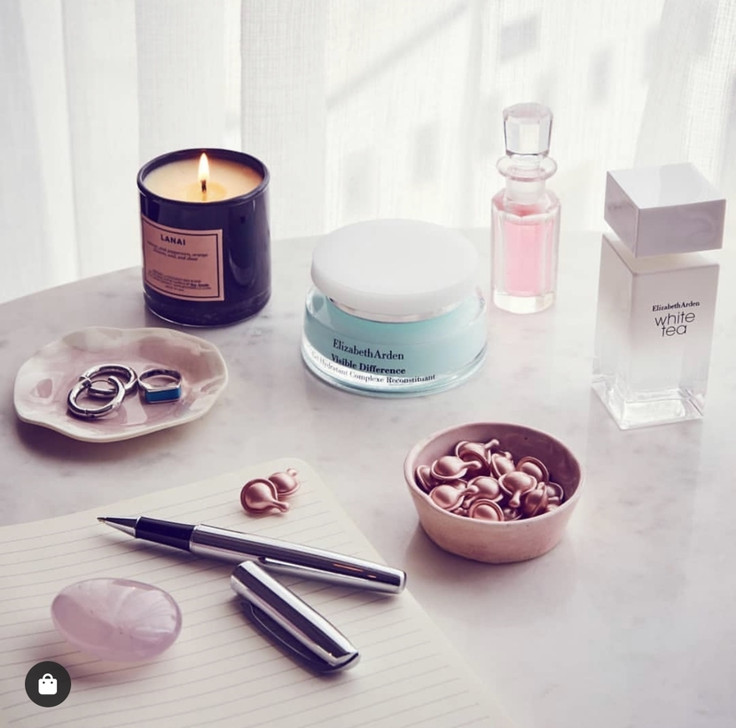 Elizabeth Arden Instagram visual