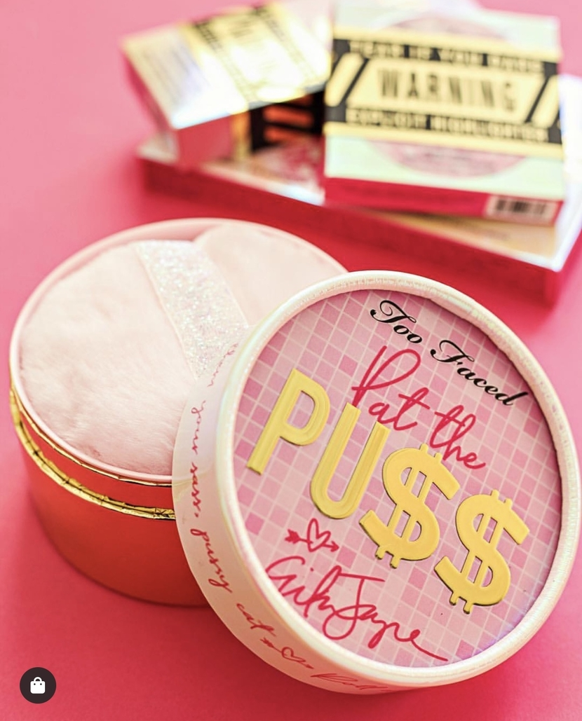 Too Faced Cosmetics powder compact