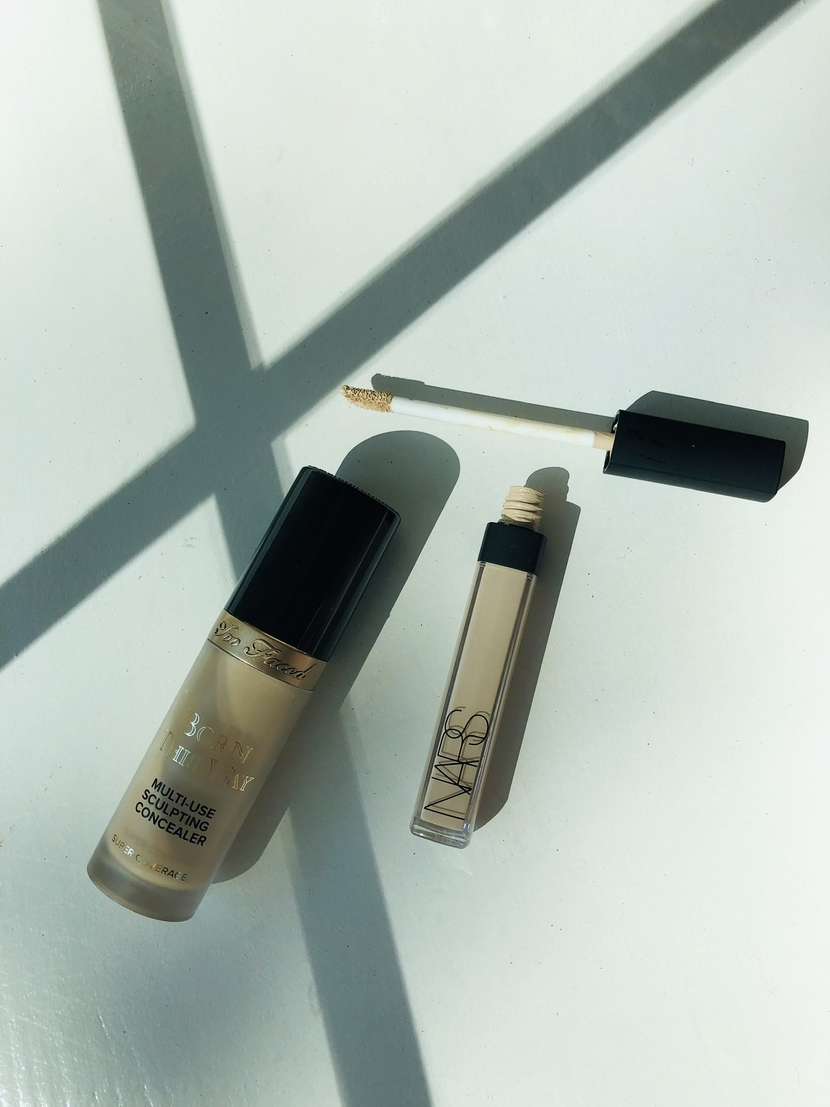 Too Faced Born This Way Multi-Use Sculpting Concealer & NARS Radiant Creamy Concealer