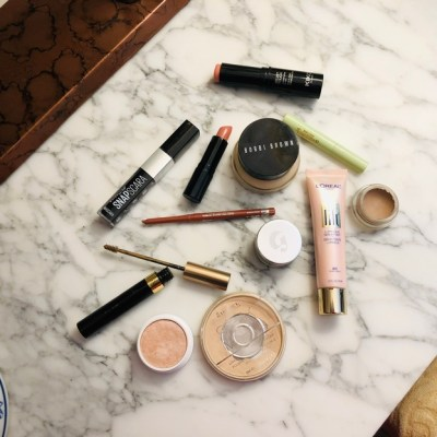 How to – Nude makeup with a hint of shimmer