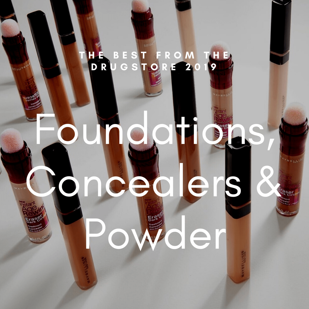 My picks this year for the best drugstore foundations, concealers, & powder!