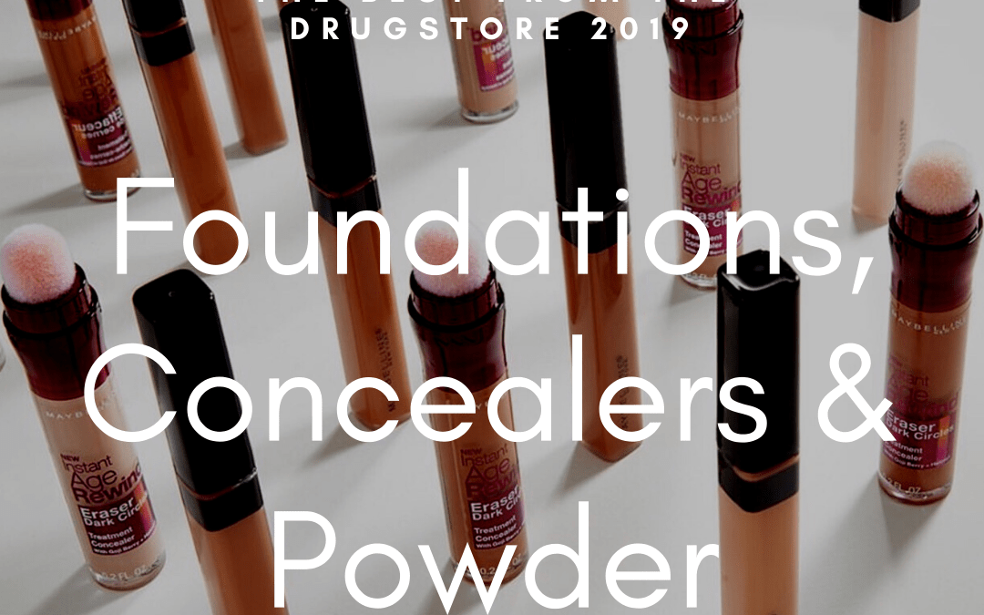 The Best Drugstore Foundations, Concealers & Powder 2019
