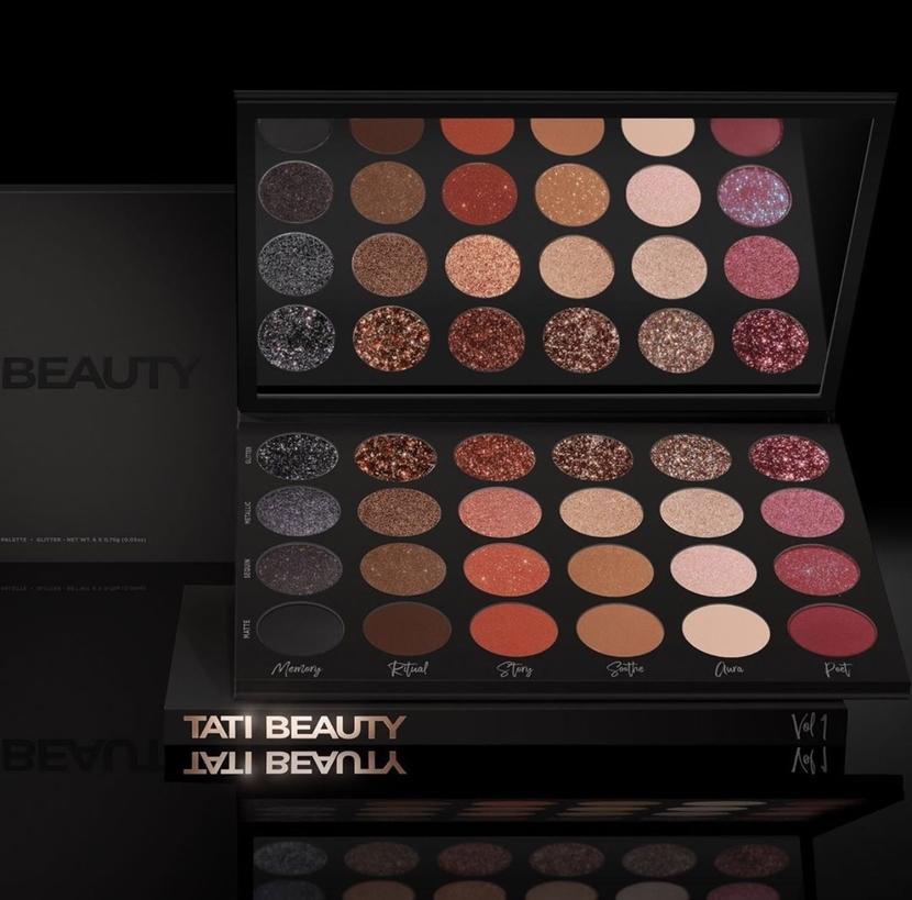 Tati Beauty Textured Neutrals Palette Vol. I