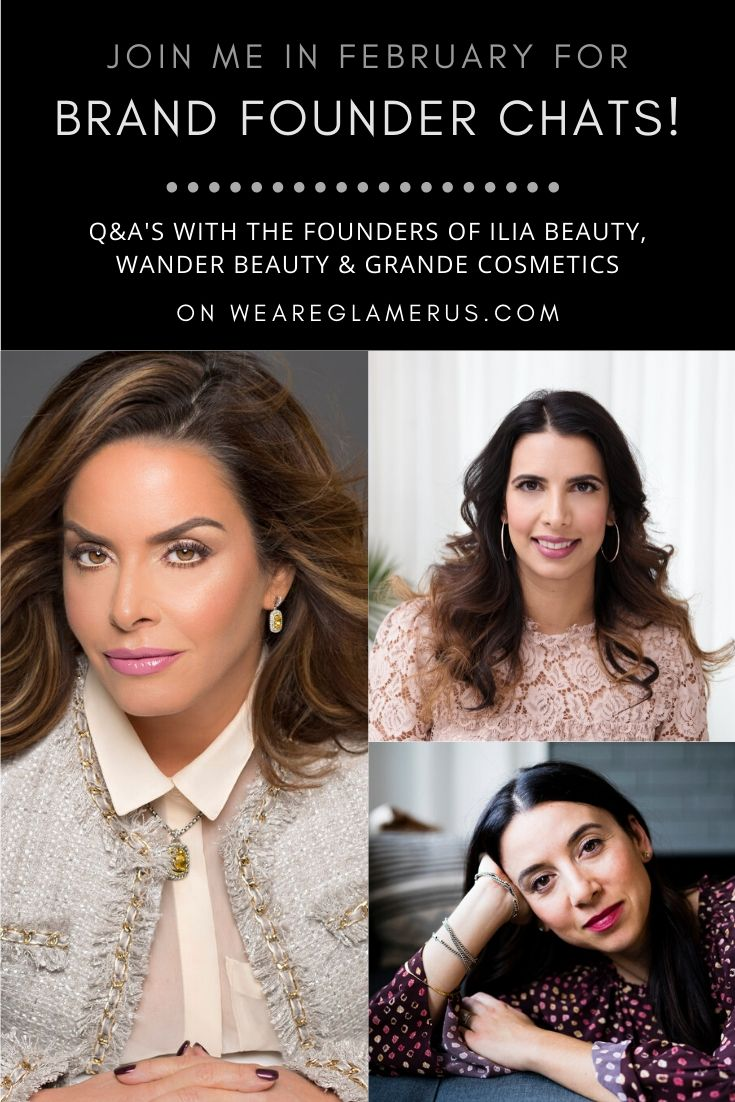 All throughout February I'm posting Q&A's with the founders behind some of your favorite beauty brands!